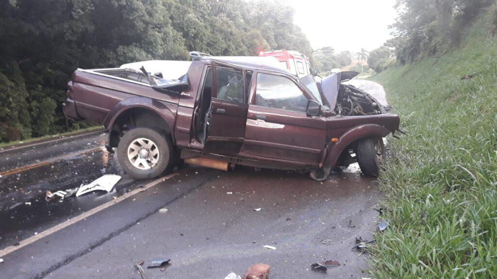 Jovem morre em acidente na PRC-280, entre Clevelândia e Palmas
